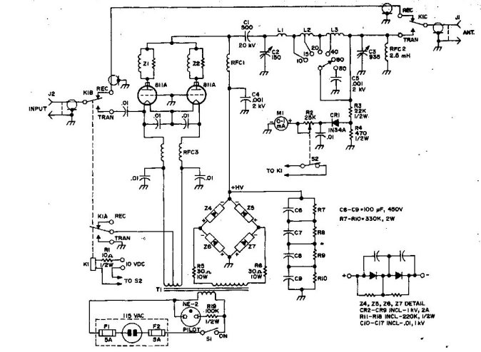 Linear Amplifier Schematic Rf Amplifier Circuit Rf Circuits Next Gr